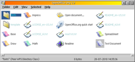 OpenOffice.org 3.2 for eComStation (desktop folder)